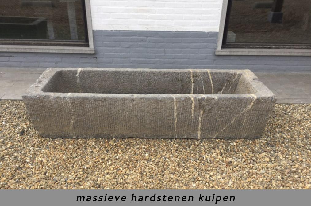 Natuursteen in uw tuin steenkapperij den itter